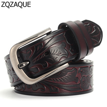 Trendy Accessories Ture Leather Belts For Men and Women Fashion Cool Pants Girdles Unisex Casual Jeans Cow Leather Cintos SY1543