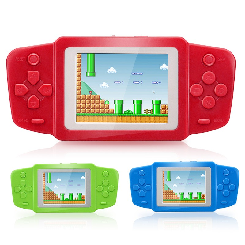 Portable Video Game Player 2.5 Inch Screen Handheld Gaming Consoles Built In Classic Games For Kids Gift Video Game Console