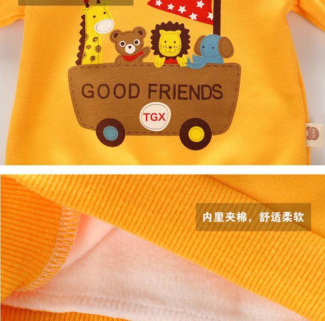 Unini-yun 2017 Boys T shirt Kids Autumn Jackets T-shirt Baby Boy Clothes Camiseta Roupas Infantis Menino Mickey Sweatshirts
