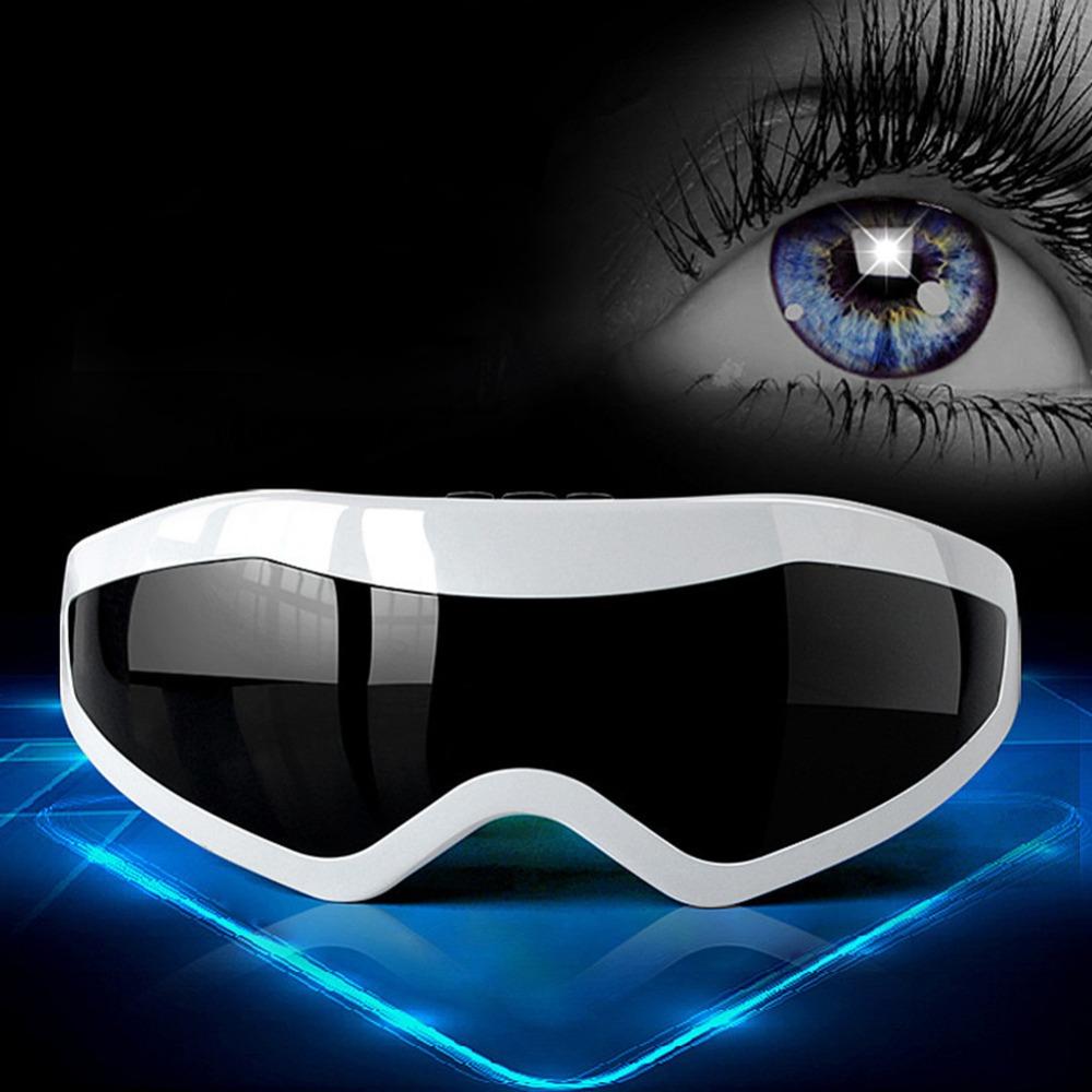 Cuidado de los ojos! DC Eléctrico Vibración Masajeador de Ojos Ojeras Aliviar La Fatiga para Masaje en La Cabeza El Tratamiento Magnético Envío Gratis