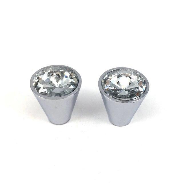 21mm Diamant Design Klarem Kristall Glas Knöpfe Schrank Schublade ...
