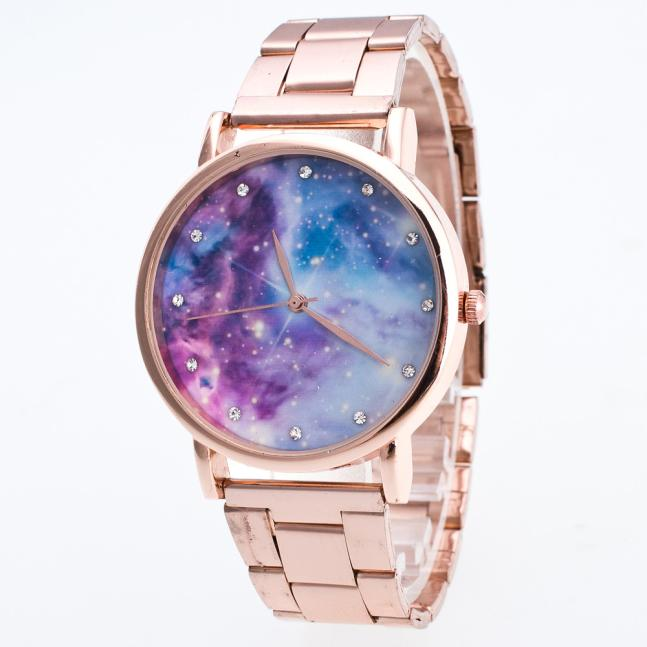 2018 Fashion Colorful Universe Aurora Planet Watches Children Kids Girls Gift Watch Casual Quartz Wristwatch Relogio Relojes #w Children's Watches
