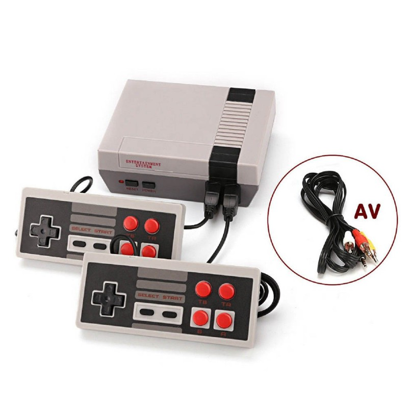 500 600 Games In 1 Tv 8bit Handheld Players Gamepad Retro Game NPGeneral Video Games Console Double Handle AV Output