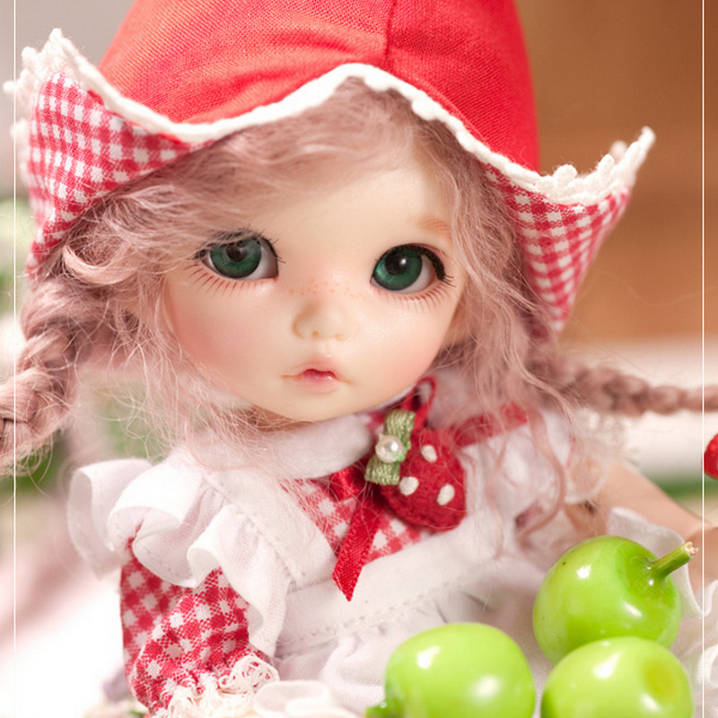 BJD Doll Pukifee Ante 1/8 Cute Fashion Resin Natural Pose Toys For Girls Toy Girl Mini Baby Jointed Dolls FL