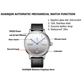 GUANQIN Mechanical Business Watch for Men  1