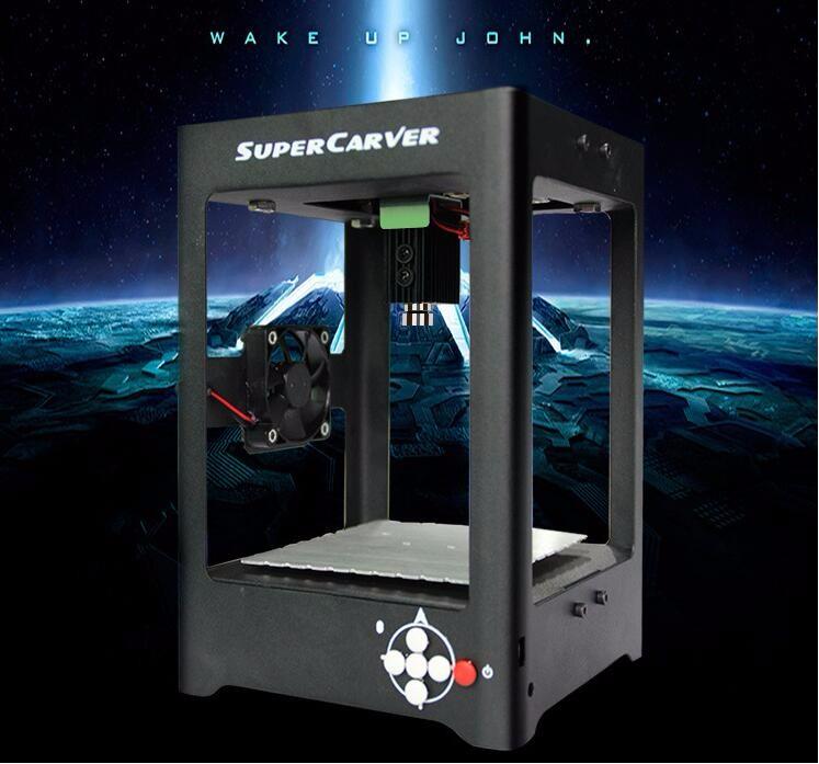 Купить 1000 МВт супер карвер лазерный гравировальный станок мини лазерный гравер мини чпу лучший подарок игрушки дешево