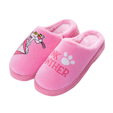 Slippers Women Winter New Indoor Bedroom Thick-soled Dame Super Warm Home Cartoon Cute Couple Female
