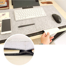 Big size 67cm*33cm Felt Mouse Mat Mouse Pad for macbook laptop notebook computer Durable Desk Mat Modern Table Felt Office home