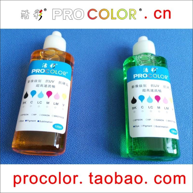 US $8 91 10% OFF|Printhead Dye ink cleaning liquid clean Fluid Kit For  Canon CISS PGI725 CLI726 IP4870 IP4970 IX6560 MG5170 MG5270 inkjet  printer-in