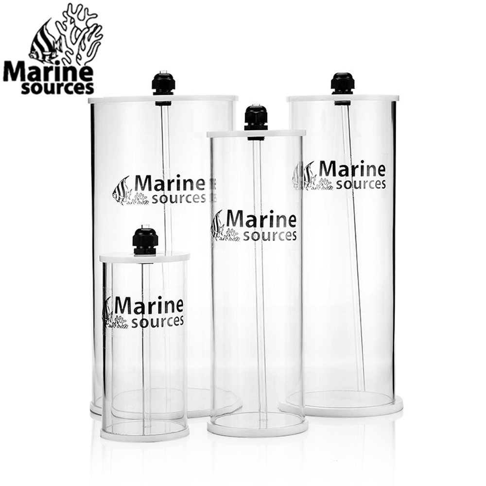 Marine Dosing Pump Liquid Container Acrylic liquid barrels for Doser Titration pump 0.8/1.5/2.5/5.0 Liters capacity MSMarine Dosing Pump Liquid Container Acrylic liquid barrels for Doser Titration pump 0.8/1.5/2.5/5.0 Liters capacity MS