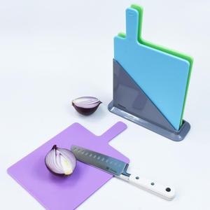 Image 4 - Fissman Cutting Board Plastic Mats Non slip Anti Bacterium Chopping Block Set of 3pcs