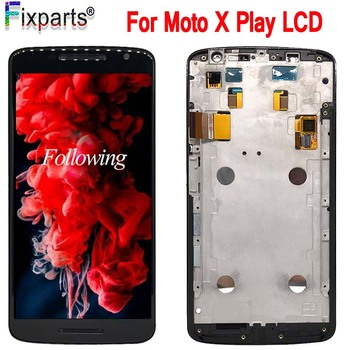 "Pantalla LCD de 5,5 ""para moto x Play + MONTAJE DE digitalizador con pantalla táctil piezas de repuesto para moto x T1562 XT1561 LCD"