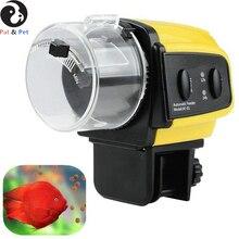 Фидер для рыб-цифровой автоматический электрический пластиковый таймер для Кормления Рыбы, домашний аквариумный бак кормушка, 1 шт., безопасный и здоровый