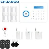 Chuango A11 315 МГц домашней безопасности PSTN сигнализации Системы DIY KIT