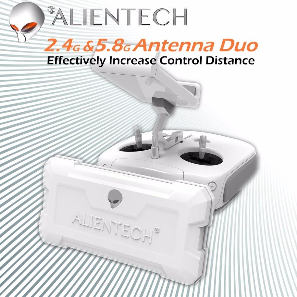 ALIENTECH 3 versão Padrão Extensor De Alcance do Sinal Da Antena Do Impulsionador para DJI Mavic 2 Pro/Air/Fantasma 4/ inspire/M600/Mg-1s