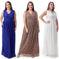 Women's Plus Size Soiree Evening Gown Lace 3XL-9XL long maternity dresses pregnant women dress pregnancy clothes plus size  420