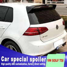 2013 to 2017 for Volkswagen VW Golf 7 MK7 Spoiler rear window roof spoiler Rear For