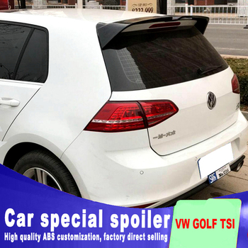 2013 to 2017 for Volkswagen VW Golf 7 MK7 Spoiler rear window roof spoiler VW Golf Rear Spoiler For Volkswagen Golf 7 MK7
