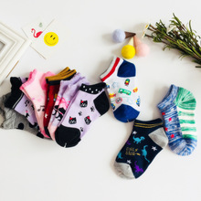 1 Pairlot Baby Socks Neonatal Summer Mesh Cotton Polka dots plain stripes Kids Girls Boys Children Socks For 3-8 Year