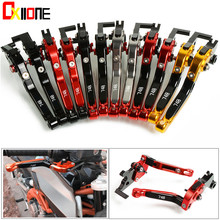 CNC Motorcycle Adjustable Brake Folding Extendable Clutch Levers Set For Ducati 748 Up to 1998 up with logo 6 Colors