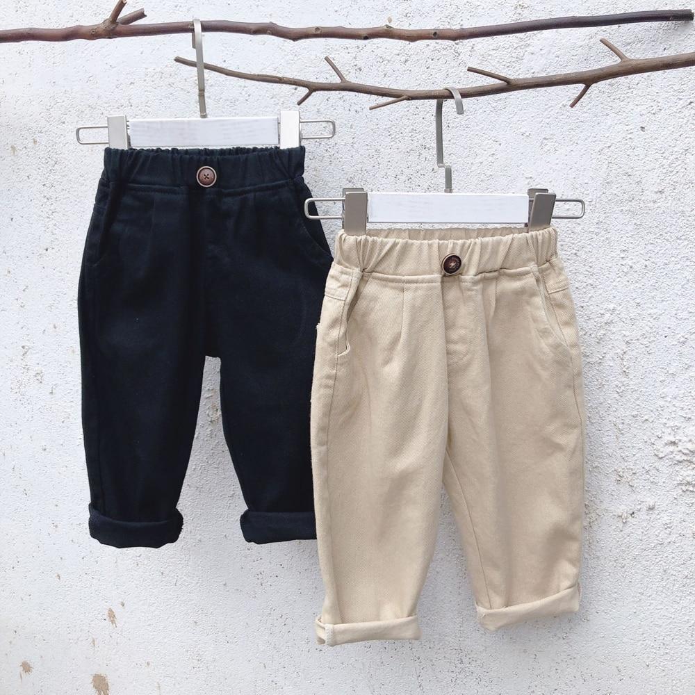18m-6y Kinder Jeans Mädchen Jungen Denim Hosen Baby Mädchen Jeans Top Qualität Casual Hosen Kinder Kleidung Frühling Leggings