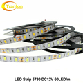 LED Strip 5730 DC12V Flexible LED Light 60LED/m 5m/lot Brighter than 5050 5630 LED Strip.