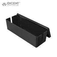 Qicent PS18 Пластик Провода Организатор Box кабель Управление шнур Tidy для Мощность для хранения газа Устройства для сматывания шнуров/USB Зарядное ...