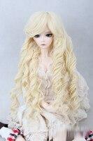 BJD SD 1 3 1 4 1 6 Doll Wigs Roman Light Golden Brown Curls Excluding