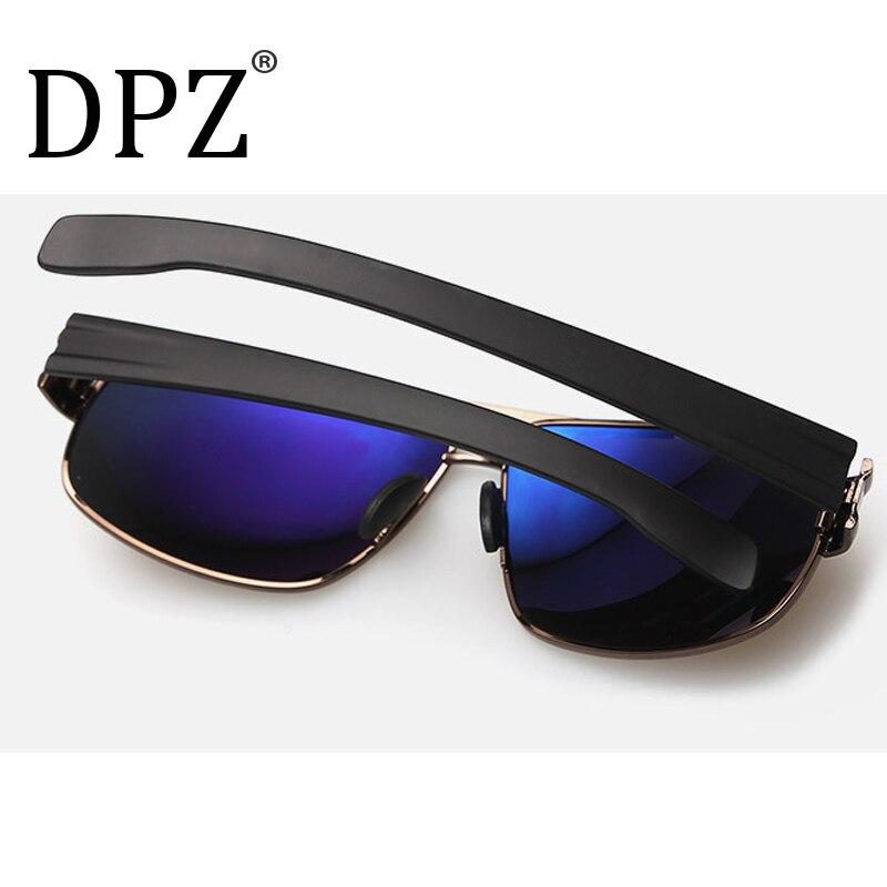 1ff065cb09b DPZ Luxury Brand Designer Vintage Polaroid Lens for Men Male Sunglasses  Polarized Eyewear Accessories UV400 Inner Coating-in Sunglasses from Men s  Clothing ...