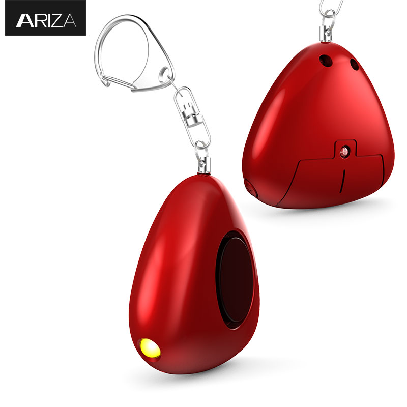 New Christmas gift Chinese Red style 130 dB keychain alarm with LED Light super quality and very nice gift box 50w 25 led red