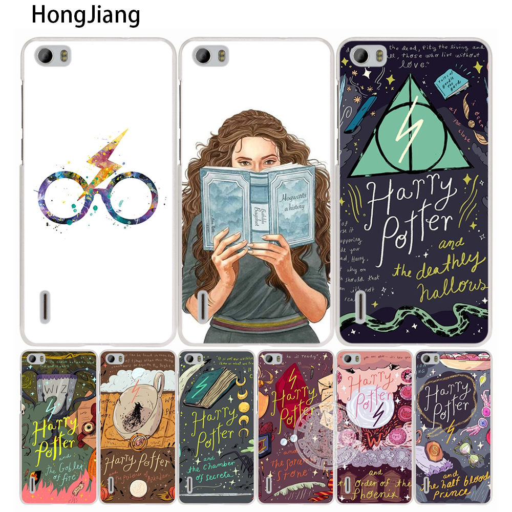 HongJiang harry potter hallow quotes <font><b>cell</b></font> <font><b>phone</b></font> Cover Case for <font><b>huawei</b></font> honor 3C 5A 4A 4X 4C 5X 6 7 8 <font><b>Y6</b></font> Y5 2 II Y560