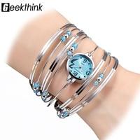 font b geekthink b font bohemian style luxury brand quartz watch women bracelet ladies casual.jpg 200x200