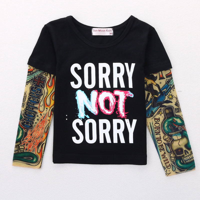 Boy-Clothes-Cotton-T-shirt-Long-Sleeve-Children-Tee-Shirts-Novelty-Tattoo-Sleeve-Baby-Boys-Tops-Springautumn-Kids-Clothing-2
