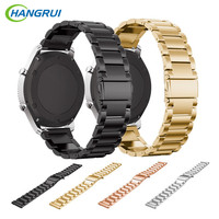 HANGRUI Stainless Steel Watch Band For Samsung Gear S3 Frontier Strap Replacement Band For Samsung Gear