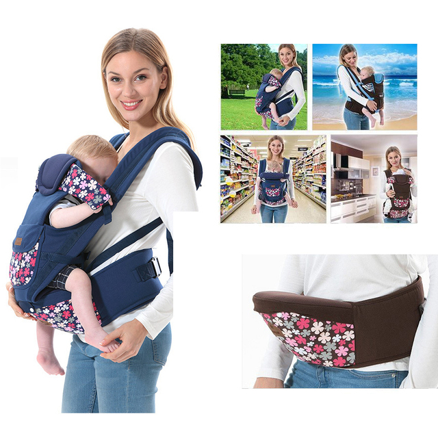 2017 Hot Best Quality Popular Organic Cotton Baby Carrier Infant
