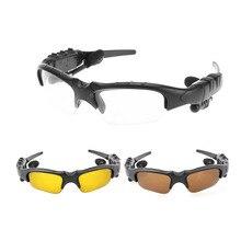 Óculos de sol fone de Ouvido Bluetooth Óculos Ao Ar Livre óculos de Música Estéreo com Microfone Sem Fio Fones de Ouvido para iPhone Samsung xiaomi Moto Huawei