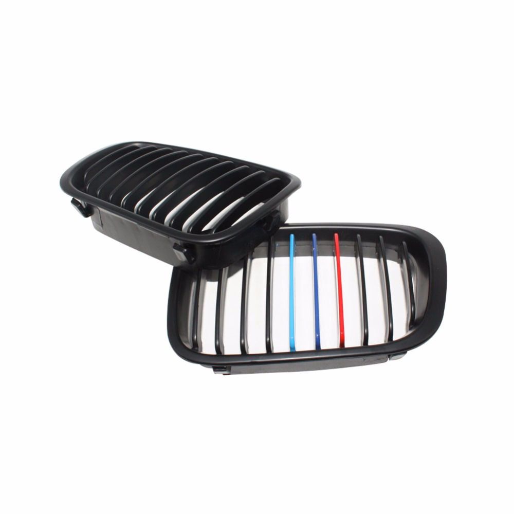 Car Style Matt Black Kidney Front Auto Car Racing Grilles Replacement Grill Decoration for BMW E46 4 Door 1998-2001Car Style Matt Black Kidney Front Auto Car Racing Grilles Replacement Grill Decoration for BMW E46 4 Door 1998-2001