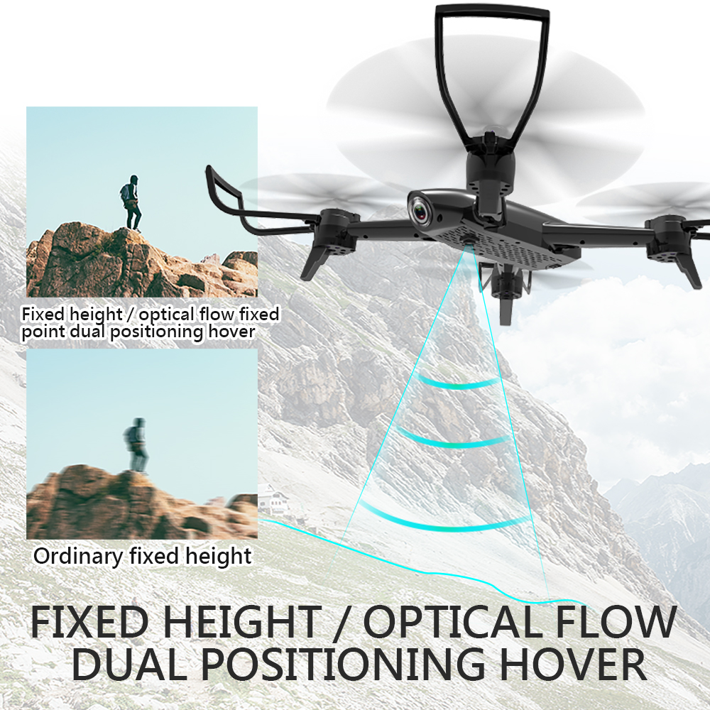 SG106 WiFi FPV RC Helicopter Drone With HD 720P Camera Quadcopter Headless Mode Hold Altitude By Optical Flow