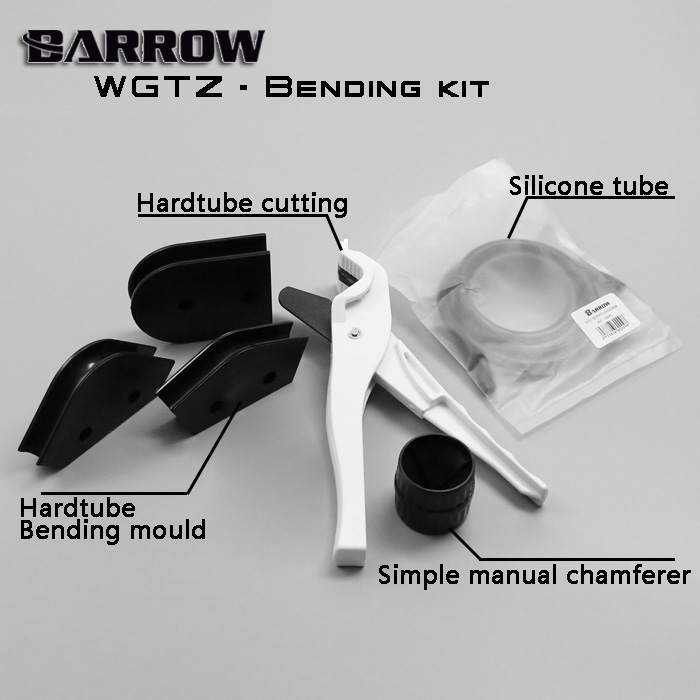 Barrow WGTZ-12/14/16 for OD12/14/16mm Acrylic/PMMA/PETG Hardtubes Bending Mould Kit, Easy to operate