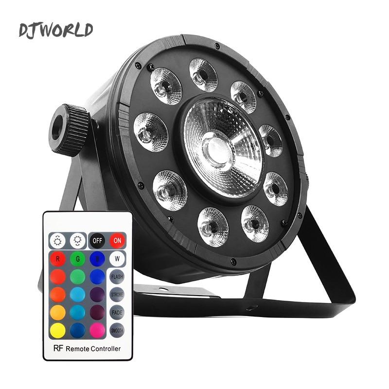 LED Fat Par 9X10W+1X30W RGB Light RGB 3IN1 LED DMX512 Stage Lighting DJ  Party Lights For Event KTV Disco Party Nightclub