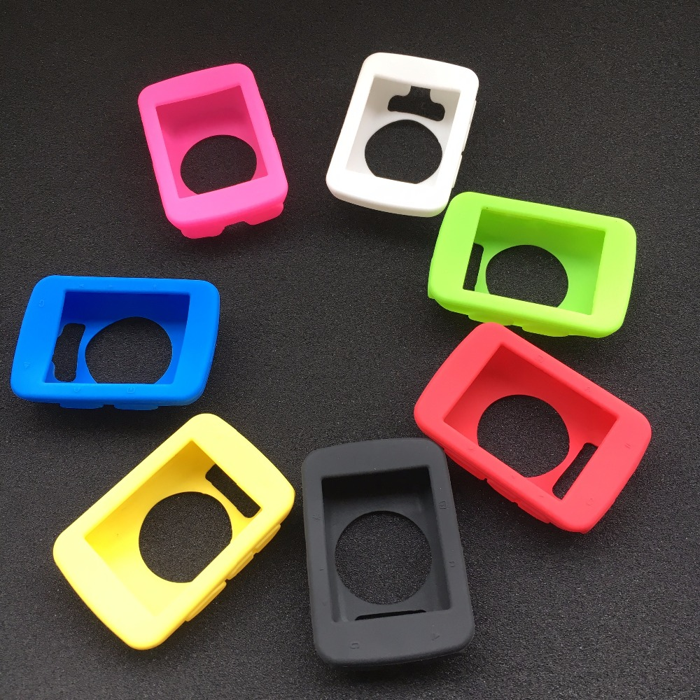 Bicycle Silicone Rubber shockproof Protect Cover Case For <font><b>Garmin</b></font> Edge <font><b>520</b></font> Bike Cycling <font><b>GPS</b></font> Computer Accessories image