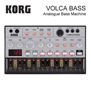 Korg Volca Bass Analog Bass Machine Electribe-Inspired Sequencer for the Ultimate Bass Lines(China)