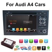 2din автомобильный DVD gps Navi для Audi A4 gps (2003 2008) audi S4/RS4/8E/8F/B9/B7 с gps Wi Fi Bluetooth Радио RDS Canbus карта BT