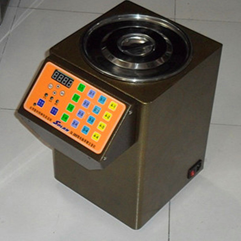 Automatic stainless steel bubble tea equipments fructose quantitative machine syrup dispenser boba machines ZF automatic spanish snacks automatic latin fruit machines