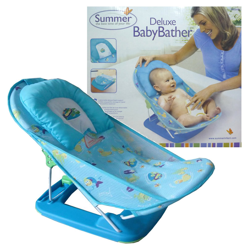 Summer Infant Bath Seat | Summer For Baby Folding Shower Bathing Chair Bathtub Bath Network Bed Mount Baby Bath Seat