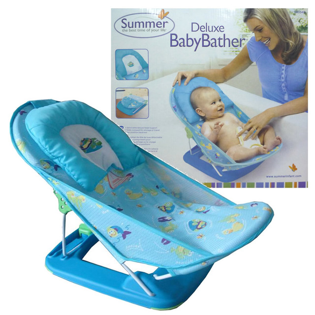 Summer For Baby Folding Shower Bathing Chair Bathtub Bath Network ...