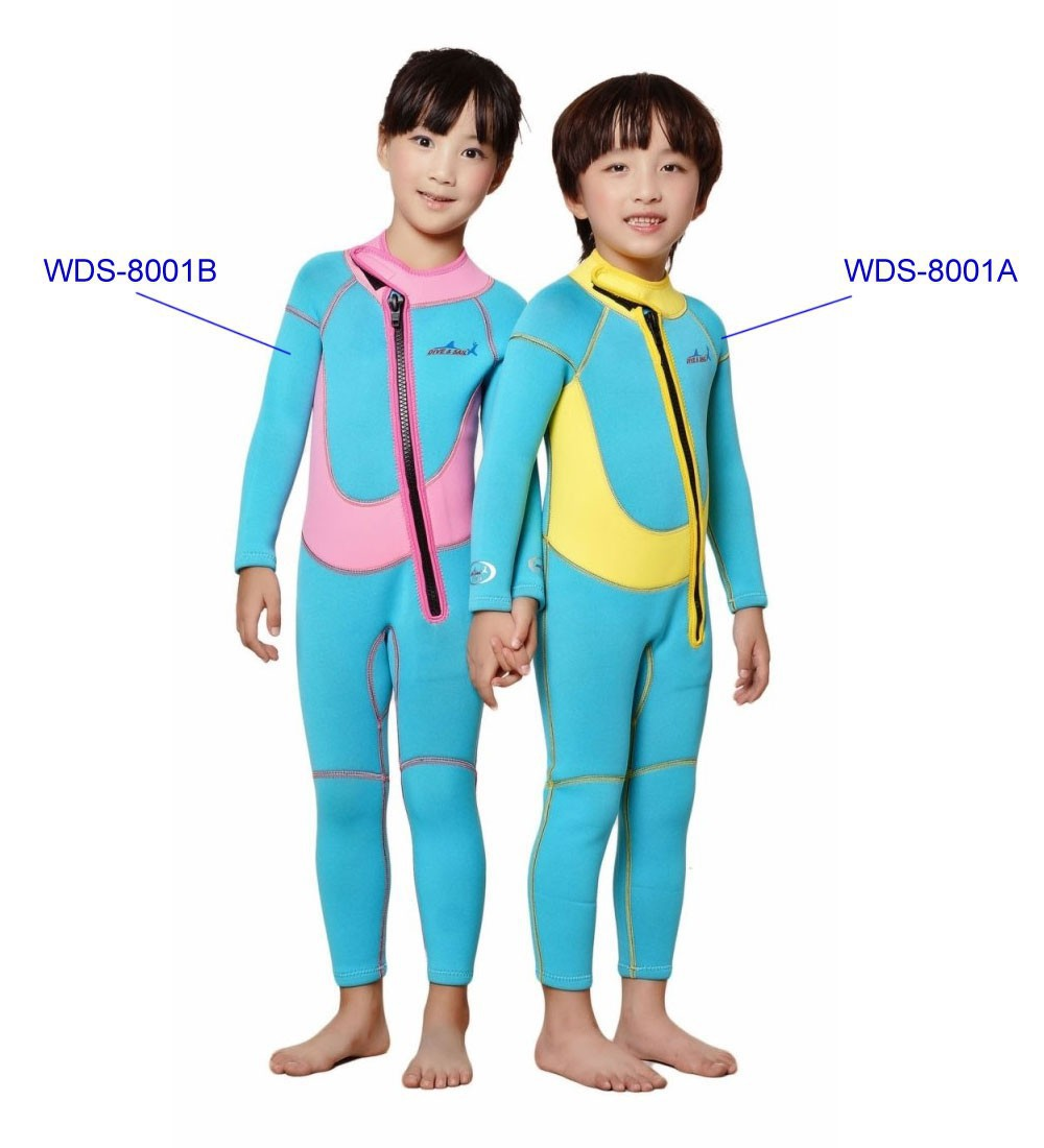 Neoprene Wetsuits For Kids Baby Spring Winter Autumn Swimsuit Thick Swim Suit Children
