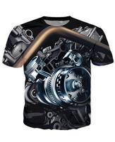 High Quality Cool T Shirt Men Or Women Hot 3d Tshirt Print Motor Heavy Metal Skull