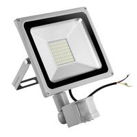 4PCS Motion Sensor Led Flood Lights 50W 220V Floodlight LED Spotlight Outdoor Lighting Projector Reflector Garden Wall Lamps