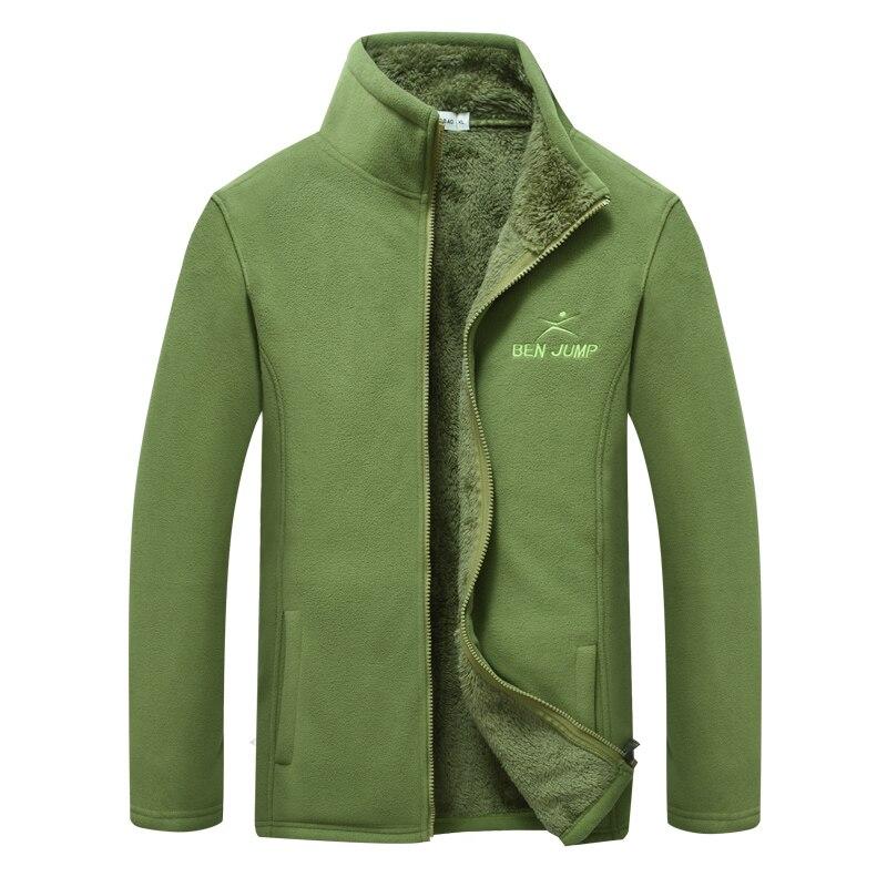 9d8f703fd4d Куртки флис мужской флеш утолщение длинные бархатные ветровка согреться  Pizex мягкая оболочка куртка лайнер